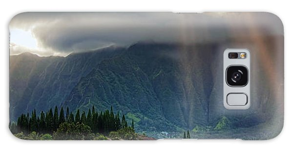 Koolau Sun Rays Galaxy Case