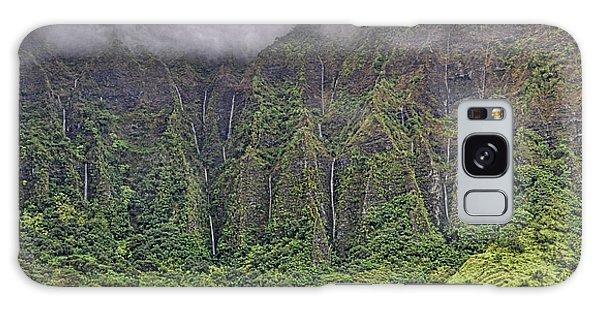 Ko'olau Waterfalls Galaxy Case