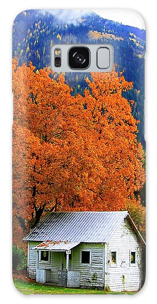 Kootenay Autumn Shed Galaxy Case