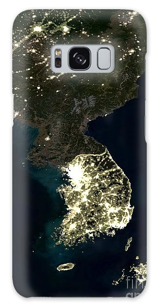 Korean Peninsula Galaxy Case by Planet Observer and SPL and Photo Researchers