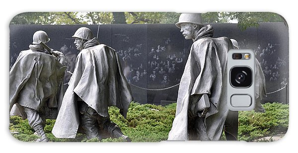 Korean War Memorial 3 Galaxy Case