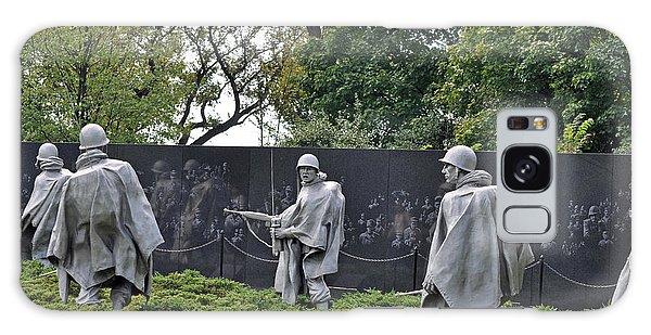 Korean War Memorial 4 Galaxy Case