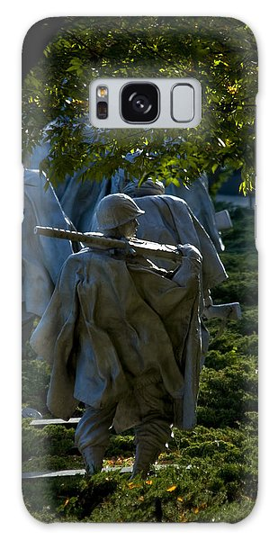 Korean War Memorial Galaxy Case