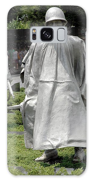 Korean War Memorial Galaxy Case