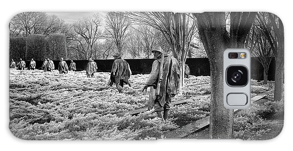 Korean War Memorial Galaxy Case by Paul Seymour