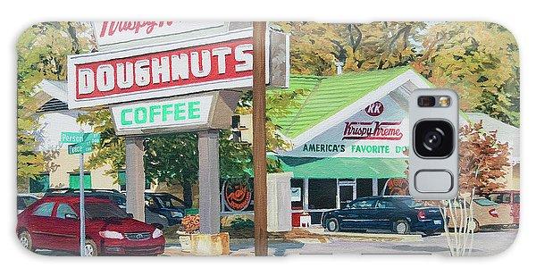 Krispy Kreme At Daytime Galaxy Case