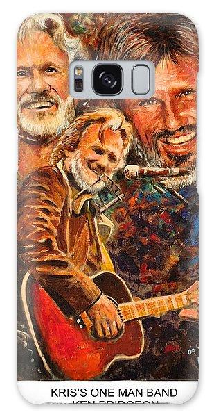 Kris's One Man Band Galaxy Case by Ken Pridgeon