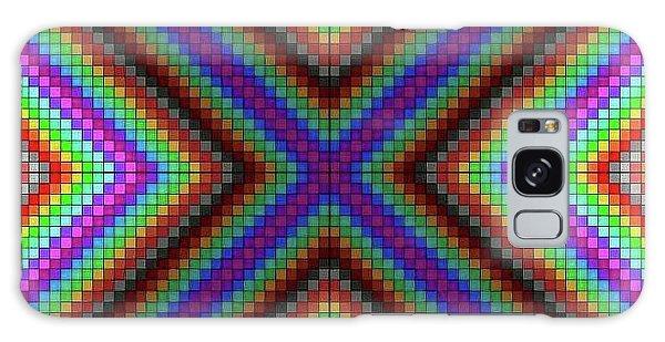 Galaxy Case - Krisskross by Lisa Marie Towne