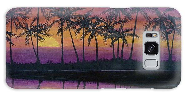 Kristine's Sunset Galaxy Case