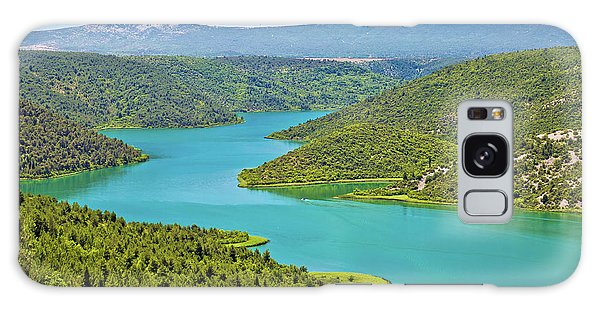 Krka River National Park View Galaxy Case