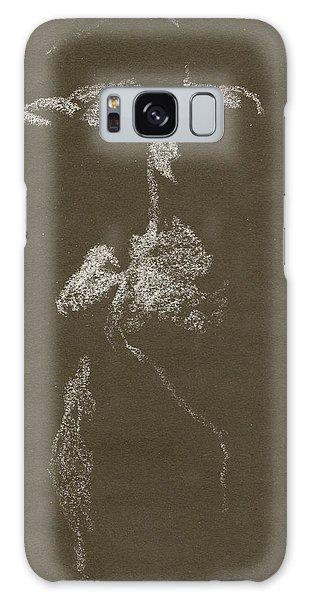 Kroki 1997, Pre.3 Vit Krita, Figure Drawing White Chalk Galaxy Case