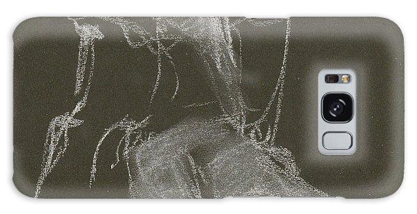 Kroki-2015-04-11-figure-drawing-white-chalk-marica-ohlsson-marica-ohlsson Galaxy Case