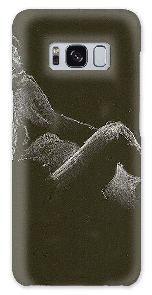 Kroki 2014 12 27_3 Figure Drawing White Chalk Galaxy Case