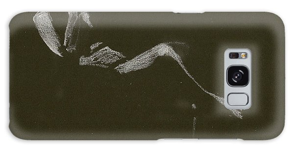 Kroki 2015 01 10_5 Figure Drawing White Chalk Galaxy Case