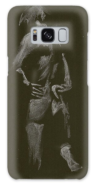 Kroki 2015 01 10_7 Figure Drawing White Chalk Galaxy Case