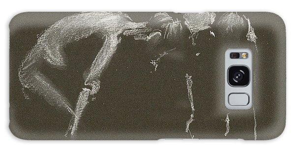 Kroki 2015 04 25 _1 Figure Drawing White Chalk Galaxy Case