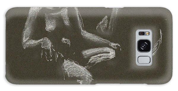 Kroki 2015 04 25 _3 Figure Drawing White Chalk Galaxy Case