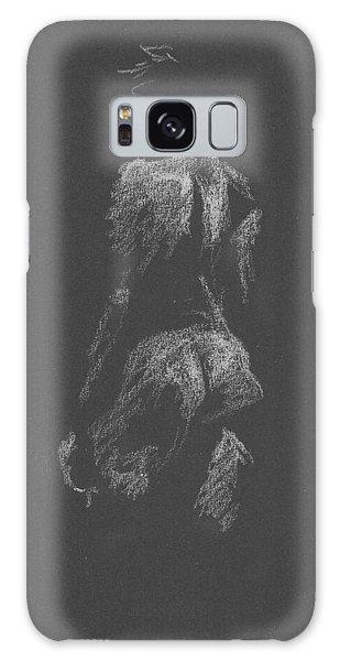 Kroki 2015 09 26 _3 Figure Drawing White Chalk Galaxy Case