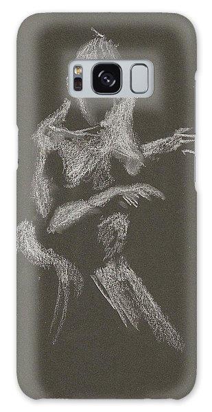 Kroki 2015 10 03_12 Figure Drawing White Chalk Galaxy Case
