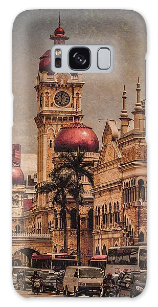 Kuala Lumpur, Malaysia - Red Onion Domes Galaxy Case