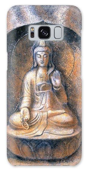 Kuan Yin Meditating Galaxy Case