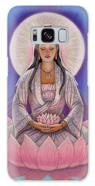Kuan Yin Galaxy Case by Sue Halstenberg