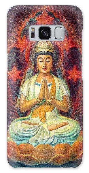 Kuan Yin's Prayer Galaxy Case
