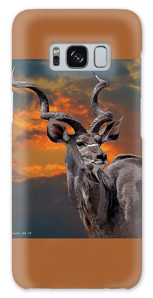 Kudu At Sunset Galaxy Case