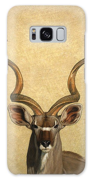 Wildlife Galaxy Case - Kudu by James W Johnson