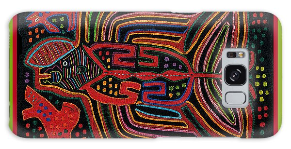 Kuna Indian Flying Fish  Galaxy Case