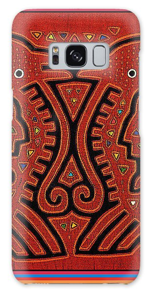 Kuna Indian Skate Fish Galaxy Case