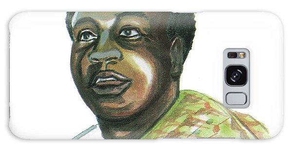 Kwame Nkrumah Galaxy Case by Emmanuel Baliyanga