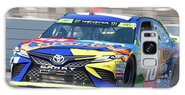 Kyle Busch Coming Out Of Turn 1 Galaxy Case