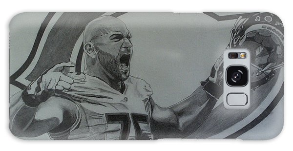 Kyle Long Of The Chicago Bears Galaxy Case