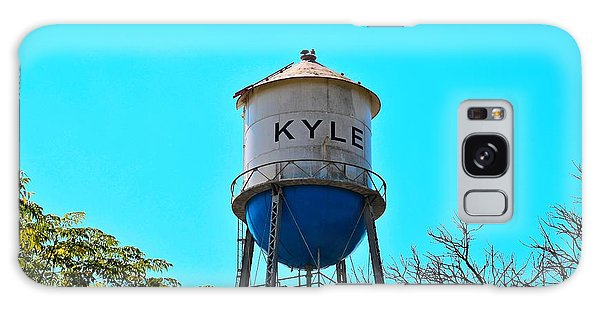 Kyle Texas Water Tower Galaxy Case