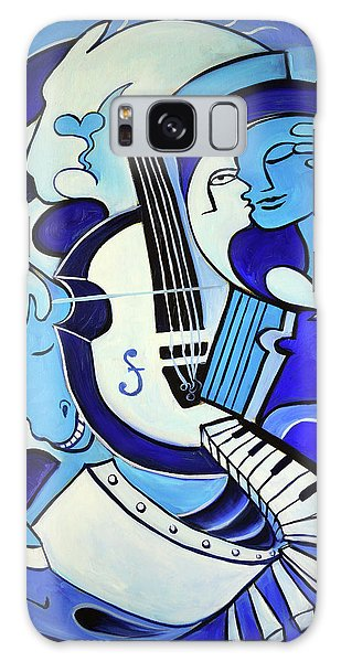 Abstract Galaxy Case - L Amour Ou Quoi 2 by Valerie Vescovi