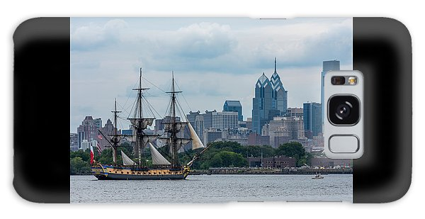 L Hermione Philadelphia Skyline Galaxy Case