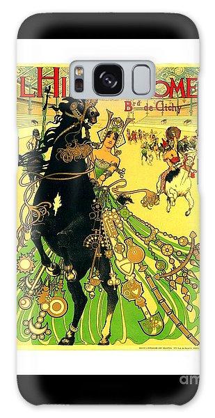 L Hippodrome 1905 Parisian Art Nouveau Poster II 1905 Galaxy Case