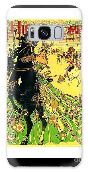 L Hippodrome 1905 Parisian Art Nouveau Poster II Manuel Orazi 1905 Galaxy Case
