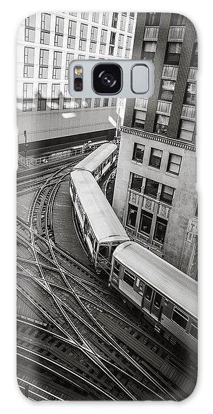 L Train In Chicago Galaxy Case