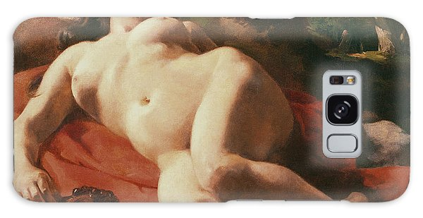 Mythological Galaxy Case - La Bacchante by Gustave Courbet