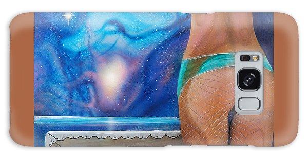 La Bailarina Galaxy Case by Angel Ortiz