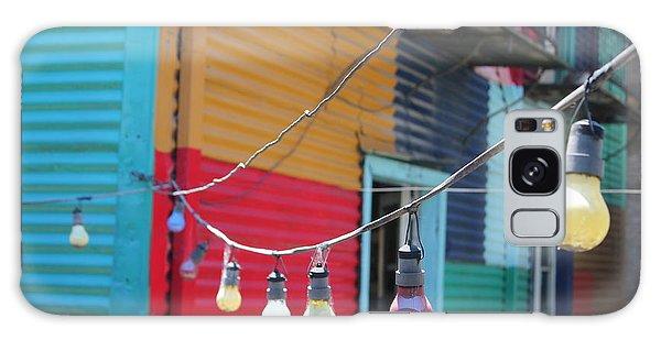 La Boca Lightbulbs Galaxy Case
