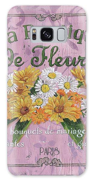 Bloom Galaxy Case - La Botanique 1 by Debbie DeWitt