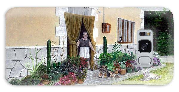 La Casa De Nonna Loreta Galaxy Case by Albert Puskaric