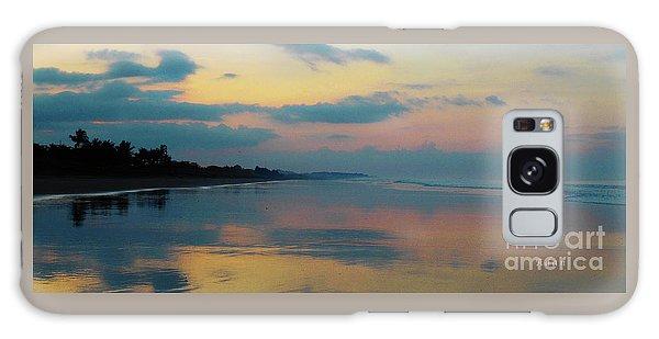 la Casita Playa Hermosa Puntarenas - Sunrise One - Painted Beach Costa Rica Panorama Galaxy Case