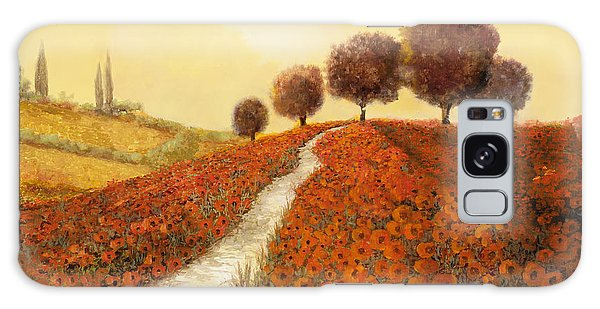 Landscape Galaxy Case - La Collina Dei Papaveri by Guido Borelli