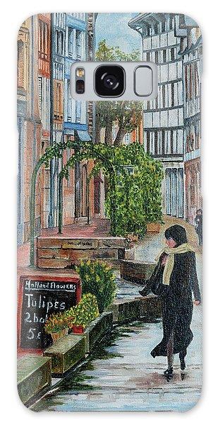 La Femme Aux Tulipes Galaxy Case