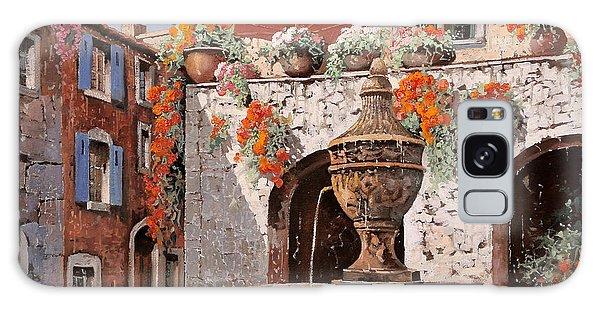 France Galaxy Case - la fontana a St Paul de Vence by Guido Borelli