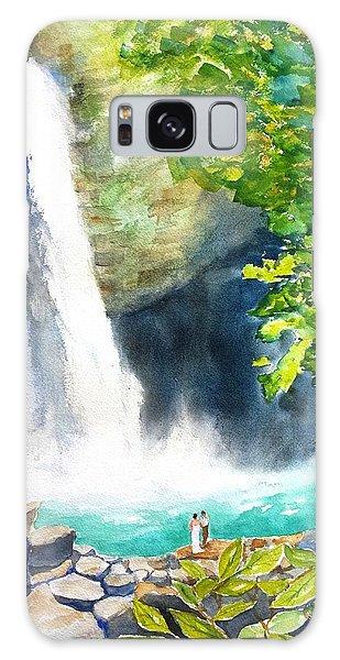 La Fortuna Waterfall Galaxy Case